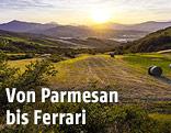 Landschaftsaufnahme aus der Region Emilia-Romagna
