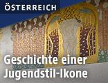 """Teil des """"Beethovenfries"""" von Gustav Klimt"""