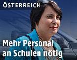Präsidentin des Stadtschulrats für Wien Susanne Brandsteidl