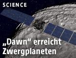 """""""Dawn"""" erreicht Zwergplaneten"""
