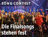 Finalisten der österreichischen Song-Contest-Ausscheidung