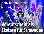 Die Band Army of Lovers beim Melodifestivalen in Schweden