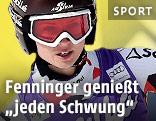 ÖSV-Fahrerin Anna Fenninger (AUT)