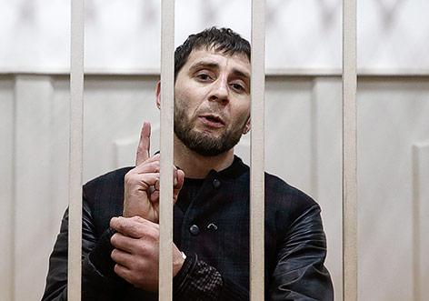 Der Verdächtige Zaur Dadayev vor Gericht