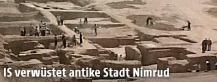 Ausgrabungen in Nimrud