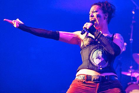 Amanda Palmer auf der Bühne