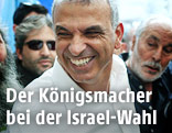 Der sozialkonservative israelische Politiker Mosche Kachlon (Kulanu-Partei)