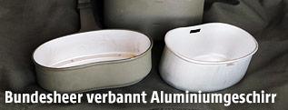 Aluminiumgeschirrr des Bundesheers