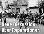 Invasion der deutschen Truppen in Griechenland im Jahr 1941