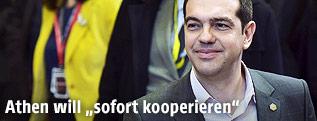 Griechischer Premier Alexis Tsipras