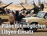 Lybische Soldaten