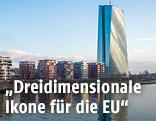 Das neue EZB-Gebäude in Frankfurt