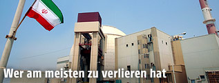 Atomanlage Bushehr im Iran