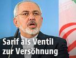 Der iranische Außenminister Mohammed Dschawad Sarif