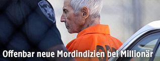 Robert Durst in Gefängniskleidung