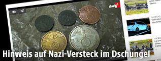 Münzen aus dem Zweiten Weltkrieg