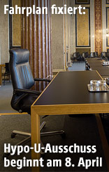 Das Lokal VI im Parlament