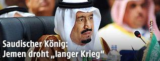 Der saudische König Salman