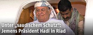 Jemens Präsident Abed Rabbo Mansur Hadi