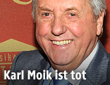 Der Moderator Karl Moik