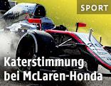 McLaren-Pilot Kevin Magnussen im Kießbett