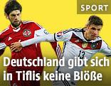 Kakhi Makharadze (Georgien) gegen Thomas Müller (Deutschland)