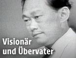 Porträt von Lee Kuan Yew im Jahr 1965