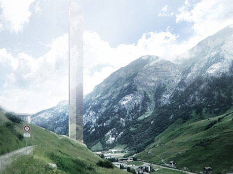 Visualisierung des Hotelturmes