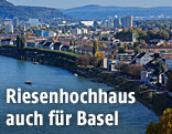Stadtansicht von Basel