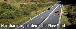 Autobahn bei Bischofshofen