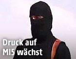 Maskierter IS-Terrorist