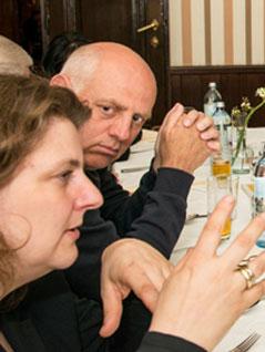 Kristina Jahn und Christoph Chorherr