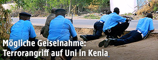 Kenianische Polizisten