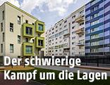 Wohnhäuser im Wiener Sonnwendviertel
