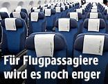 Innenansicht eines Flugzeugs