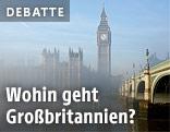Britisches Parlament mit Big Ben