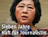 Die chinesische Journalistin Gao Yu
