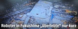 Aufnahme aus Fukushima-Reaktor