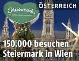 Grünes Herz vor dem Wiener Rathaus