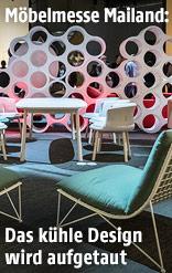 Eindrücke von der Möbelmesse Mailand