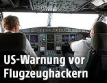 Piloten im Cockpit eines Airbus A320