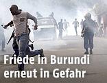 Ausschreitungen in Burundi