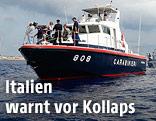 Küstenwache vor Lampedusa