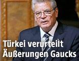 Deutscher Bundespräsident Joachim Gauck