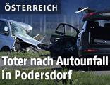 Die beiden Unfallautos