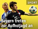 Thomas Mueller (Bayern) gegen Maicon (Porto)