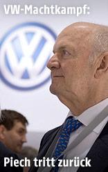 Volkswagen-Aufsichtsratschef Ferdinand Piech