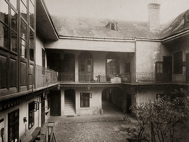 Pawlatschenhaus, Döblinger Hauptstraße 33, 1904–05