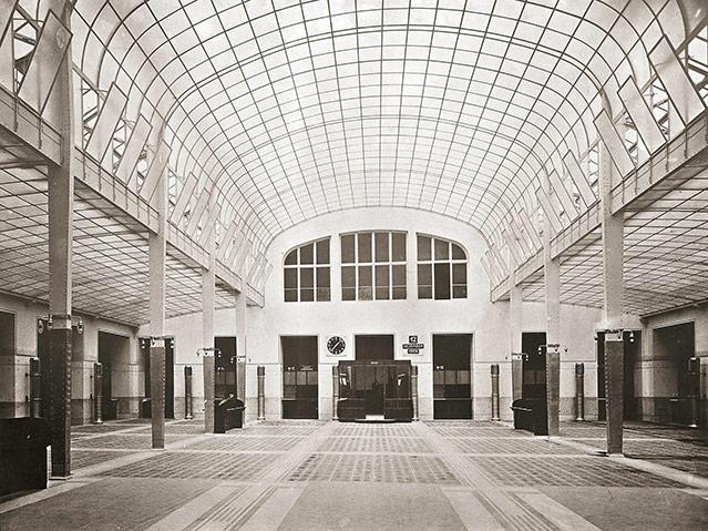 Österreichische Postsparkasse Kassensaal, 1906