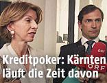 ärntner Finanzreferentin Gabriele Schaunig (SPÖ) und Rechtsreferent Christian Ragger (FPÖ)